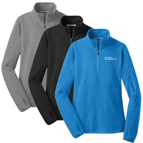 TEXN - Ladies Microfleece 1/2-Zip Pullover (L224)
