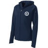 SCS - Ladies Full-Zip Hooded Tech Jacket (Navy L248)