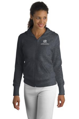 UBNS- Ladies Full Zip Hoodie L265