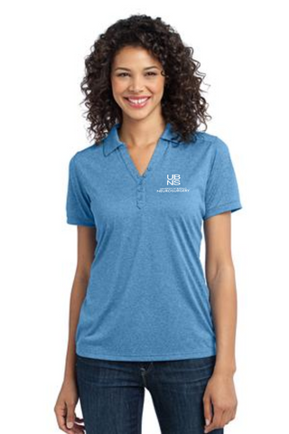 UBNS- Ladies Performance Cross Dye Polo L513
