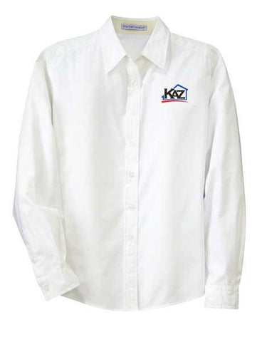 KAZ- Womens Long Sleeve Easy Care- L608