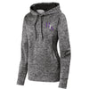 HTA - Ladies PosiCharge Electric Heather Fleece Hoodie (LST225)
