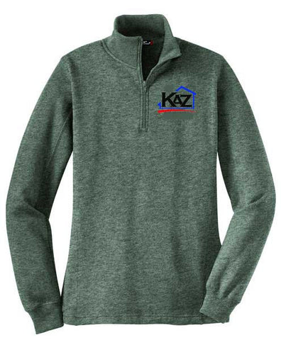 KAZ- Womens 1/4 Zip Sweatshirt- LST253