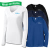 TEXN - Ladies RacerMesh® Long Sleeve V-Neck Tee (LST353LS)