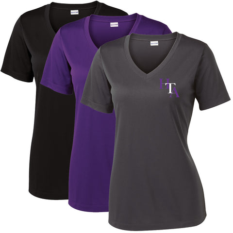 HTA - Womens PosiCharge Competitor V-Neck (LST353)