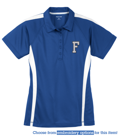 FROATH - Sport-Tek® Ladies PosiCharge™ Micro-Mesh Colorblock Polo (LST685)