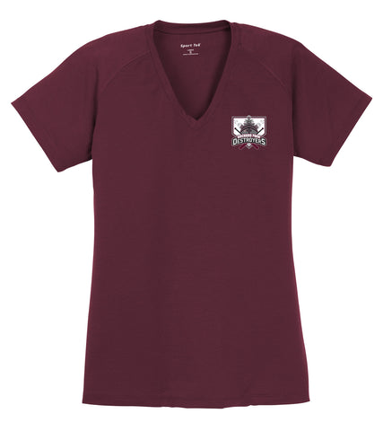 OPD - Ladies Ultimate Performance V-Neck (LST700)