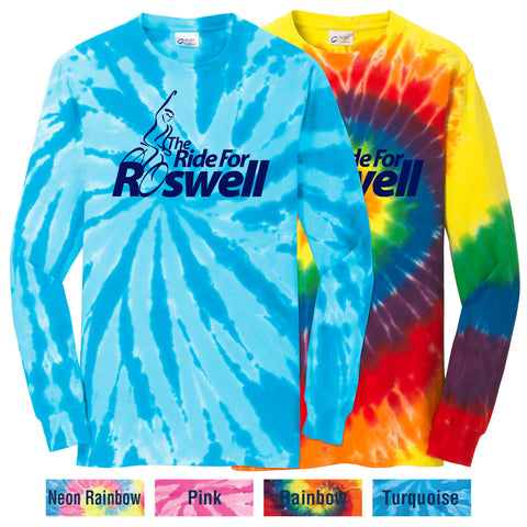RFR - Adult Unisex Tie-Dye Long-Sleeve Tee (PC147LS)
