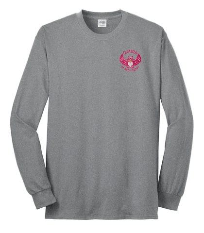 Olmsted/K - Port & Company® Youth Long Sleeve 5.4-oz 100% Cotton T-Shirt (PC54YLS)