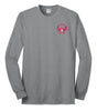 Olmsted/K - District® Long Sleeve 50/50 Cotton/Poly T-Shirt (PC55LS)