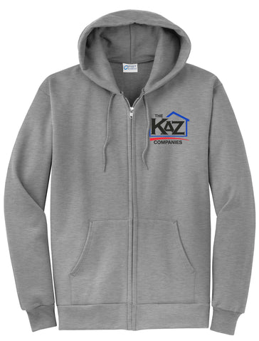 KAZ- Full Zip Sweatshirt- PC78ZH