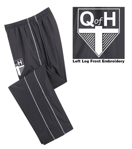 QOH - Mens/Womens Piped Wind Pant (L|PST61)