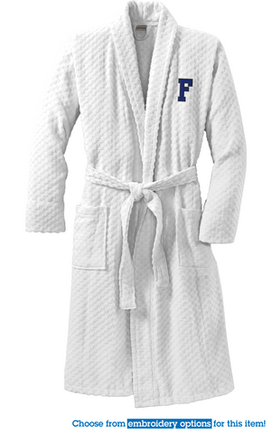 FROATH - Port Authority® Checkered Terry Shawl Collar Robe (R103)