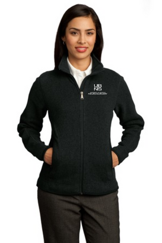 UBNS- Ladies Fleece Full Zip RH55