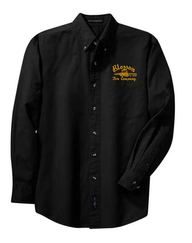 BFD-Port Authority® Long Sleeve Twill Shirt- S600t