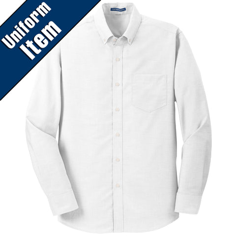 SCS - SuperPro Oxfort Shirt (White S658)