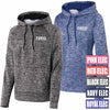 TREO - Embroidered Electric Heather Fleece Hoodie (L/ST225)
