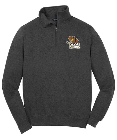 Bisons - Sport-Tek 1/4 Zip Sweatshirt (ST253)