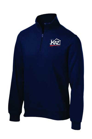 KAZ- Mens 1/4 Zip Sweatshirt- ST253