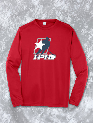 HPHD - Long Sleeve Dri Fit Competitor Tee (ST350LS)