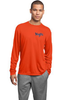 STK - Long Sleeve Performance shirt - Orange - (ST350LS)(YST350LS)
