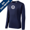 SCS - Long Sleeve Embroidered PosiCharge Competitor Tee (Navy Y/ST350LS)
