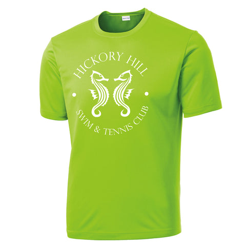 HHSWIM - PosiCharge® Competitor™ Tee (Lime Shock Y/ST350)