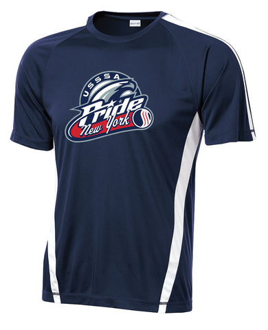 USSSA - Colorblock PosiCharge Competitor Tee (ST351)