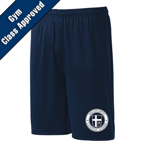 SCS - Embroiderd PosiCharge Competitor Short (Navy Y/ST355)