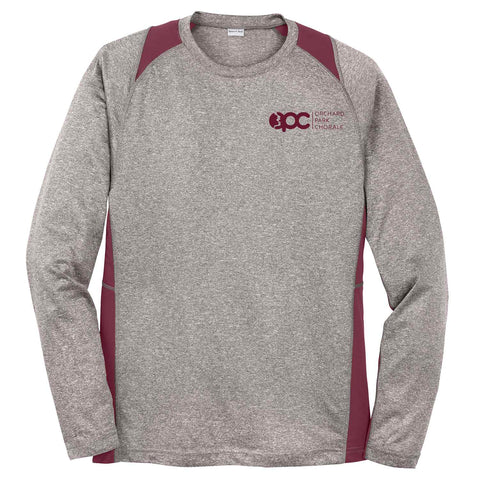 OPC - Long Sleeve Heather Colorblock Contender™ Tee (ST361LS)