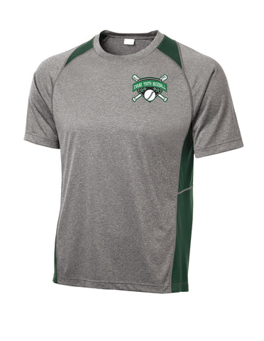 EYB - Sport-Tek® Heather Colorblock Contender™ Tee (Y)ST361