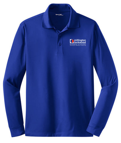 MILLINGTON - Long Sleeve Micropique Sport-Wick® Polo (ST657)