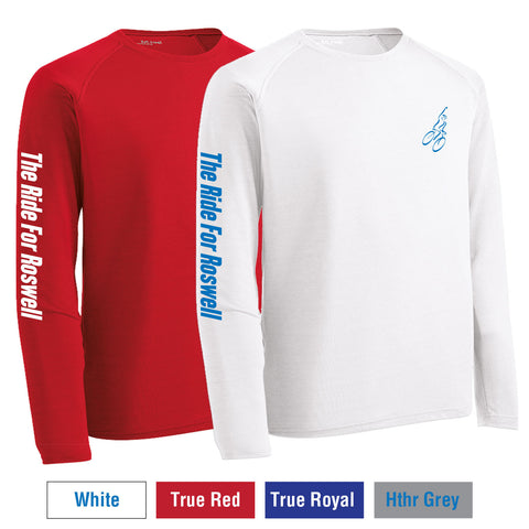 RFR - Unisex Long-Sleeve Print Performance Crew (ST700LS)