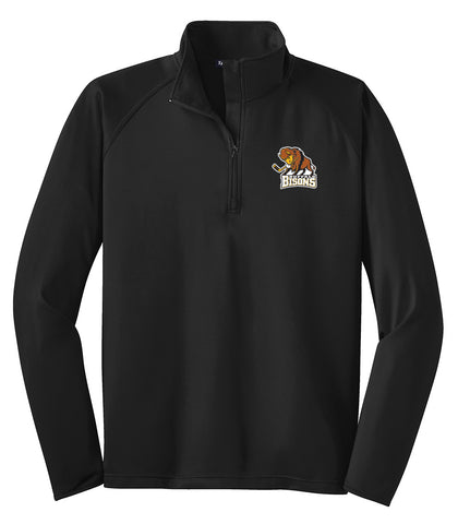 Bisons - Womens/Mens Sport-Wick 1/2-Zip Pullover (L|ST850)
