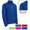 RFR - Mens Sport-Wick® Textured 1/4-Zip Pullover (ST860)