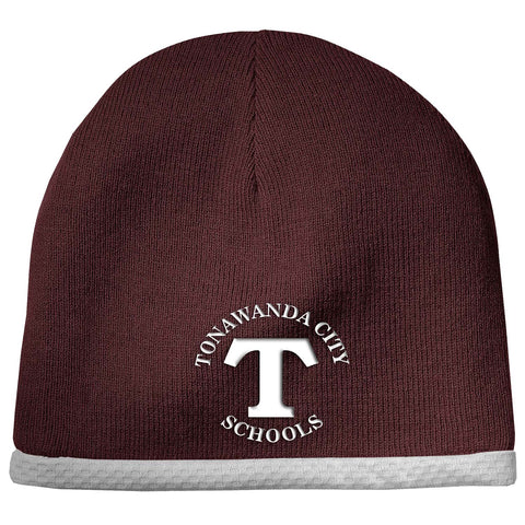 TONMID - Embroidered Performance Knit Beanie (STC15)