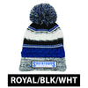 STC - Embroidered Pom Pom Beanie (STC21)