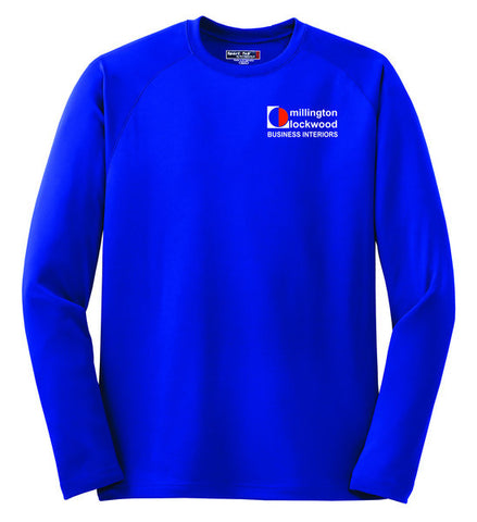 MILLINGTON-Uniform-Long Sleeve Raglan Tee- T473LS