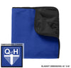 QOH - Fleece & Poly Travel Blanket (TB850)