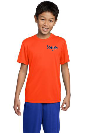 STK - S/S Performance shirt - Orange (ST350)(YST350)