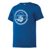 EagleRidge - Blue Youth Wicking Tee (YST350)