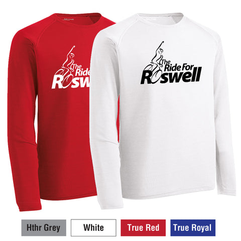 RFR - Youth Long-Sleeve Event Logo Performance Crew (YST700LS)