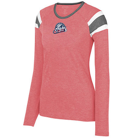 USSSA - Ladies Long Sleeve Fanatic Tee (Augusta 3012)