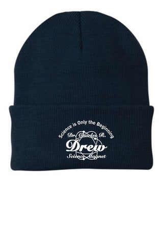 DREW - Embroidered Knit Cap (CP90)