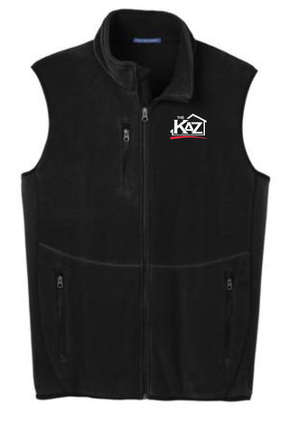 KAZ- Mens Port Authority® R-Tek® Pro Fleece Full-Zip Vest- F228