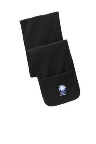 GS-Port Authority® Extra Long Fleece Scarf with Pockets-FS06