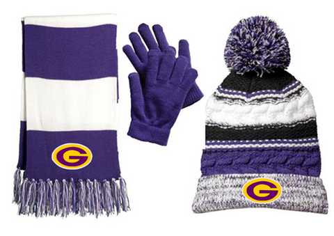 SFB - Winter Package #1 - Pom Hat, Golves & Scarf (STC21|STA01|STA02)