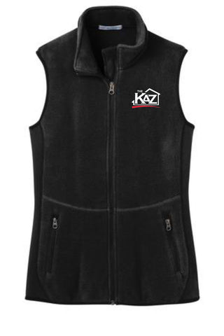 KAZ- Womens Port Authority® Ladies R-Tek® Pro Fleece Full-Zip Vest- L228