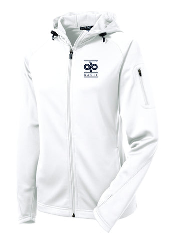 Basil-Ladies Tech Fleece Full Zip Hooded Jacket- L248