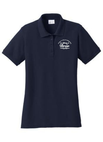 Drew-Port & Company® Ladies 50/50 Pique Polo- LKP155